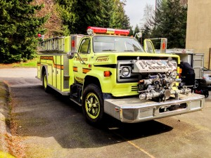 Mr. Locksmith Automotive makes keys to Fire Truck being donated to South America