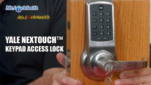 Yale Nextouch Keypad Access Lock Mr Locksmith Blog