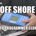 Off Shore Auto Key Programmer Clones | Automotive Locksmiths Video